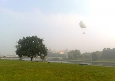 Pomiary z widokiem na Kraków